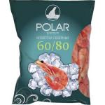 Креветки POLAR Premium Северные 60/80 варено-мороженые, 2кг