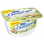Десерт творожный ДАНИССИМО Фисташковое мороженое, 130г