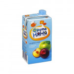 Нектар ФРУТОНЯНЯ яблоко-слива, 500г