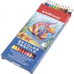 Цветные карандаши ERICH KRAUSE 24 цвета