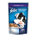 Корм для кошек FELIX с ягненком в желе, 85г