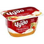 Десерт творожный ЧУДО персик/груша 4,2%, 100г