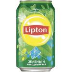Холодный чай LIPTON зеленый, 0,33 л