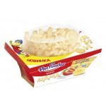 Десерт творожный РАСТИШКА клубника-банан с печеньем, 100г