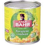 Кукуруза сладкая ДЯДЯ ВАНЯ, 340 г