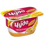 Десерт творожный ЧУДО экзотические фрукты 4,2%, 100г
