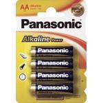 Батарейки PANASONIC ALKALINE АА, 4 шт