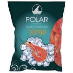 Креветки POLAR варено-мороженые 70/90, 1 кг