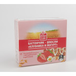 Батончик-мюсли FINE LIFE клубника и йогурт злаковый, 24г