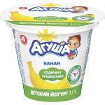 Йогурт АГУША Банан 2,6%, 90г