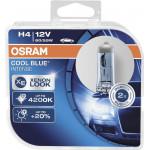 Автомобильные лампы OSRAM Cool Blue Intense H4 55W 4200K