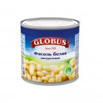 Фасоль белая GLOBUS натуральная, 400г