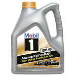 Моторное масло синтетическое MOBIL 1 New Life 0W-40, 4л