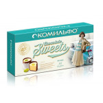 Шоколадные конфеты КОМИЛЬФО с Фисташками, 116г
