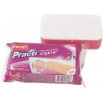 Губка для ванной PACLAN Practi Crystal замша