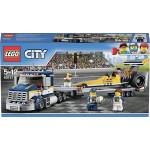 Грузовик LEGO для перевозки драгстера