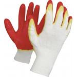 Перчатки рабочие с двойным латексным обливом, 3 пары