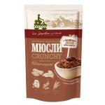 Мюсли BIONOVA шоколадные хрустящие запеченные, 400г