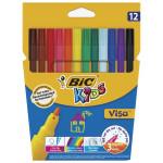 Фломастеры BIC KIDS Visa 880, 12 цветов