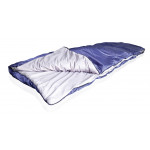 Спальный мешок-одеяло из бязи и полиэстера 1,2кг, 200х35х75см