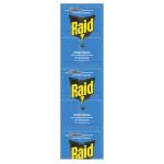 Пластины от комаров RAID для электрофумигаторов на алюминиевой основе, 10шт