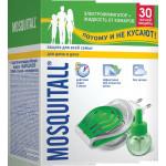 Комплект MOSQUITALL электрофумигатор+жидкость от комаров 30 ночей