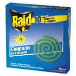Спираль от комаров RAID, 10шт