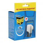 Жидкость от комаров RAID в комплекте с электрофумигатором, 1шт