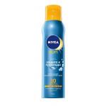 """Освежающий солнцезащитный сухой спрей """"Защита и прохлада"""" SPF 50 NIVEA, 200 мл"""