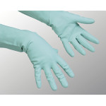 Перчатки хозяйственные VILEDA PROFESSIONAL многоцелевые размер М, зеленые