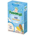 Каша молочная УМНИЦА 5 злаков, 200 г