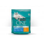 Корм для кошек сухой PURINA ONE с курицей и цельными злаками, 750г
