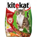 Корм для кошек KITEKAT Мясной пир, 350г
