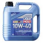 Моторное масло синтетическое LIQUI MOLY Super Leichtlauf 10W-40, 4л