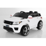 Машина детская 1TOY Land Rover с аккумулятором белая