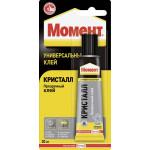 Клей МОМЕНТ Кристалл блистер, 30г
