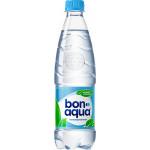 Вода питьевая BONAQUA негазированная в упаковке, 24х0,5л