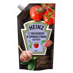 Кетчуп HEINZ С чесноком и пряностями, 350г