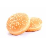 Булочка для гамбургера с кунжутом 100 мм, 40x52 г