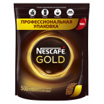Кофе растворимый NESCAFE Gold, 500 г