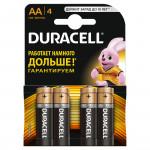 Батарейки DURACELL AA Basic, 4шт