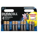 Батарейки DURACELL Turbo AA, 8шт.