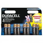 Батарейки DURACELL Turbo AA, 8шт.