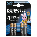 Батарейки DURACELL Turbo AAA, 4шт