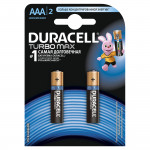 Батарейки DURACELL AAA TURBO, 2шт