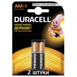 Батарейки DURACELL AAA Basic, 2шт