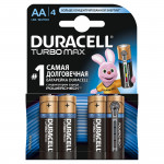 Батарейки DURACELL Turbo АА, 4шт