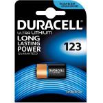 Батарейка DURACELL 123, 1шт