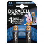 Батарейки DURACELL AA TURBO, 2шт