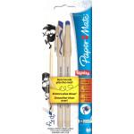 Ручки шариковые Replay PAPER MATE со стираемыми чернилами, синие, 2 шт.